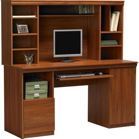 modern computer desk with hutch office desk with hutch storage ameriwood computer desk