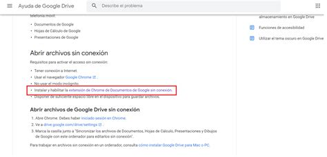 Google Docs offline: cómo utilizar la aplicación sin ...