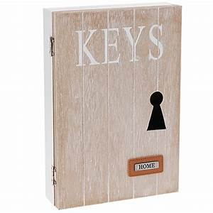 Boite A Cles Bois : armoire boite de rangement cl s design home en bois ~ Melissatoandfro.com Idées de Décoration