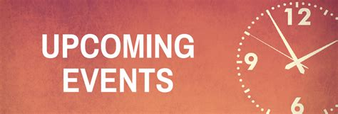 Upcoming Events - Parkgate Community Church
