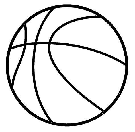 ball coloring page coloring home
