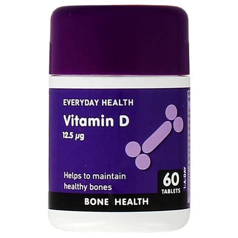 Everyday Health Vitamin D 60 Capsules