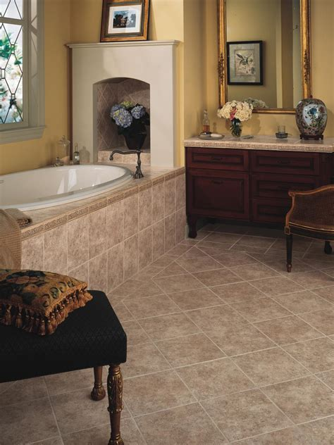 tile flooring styles bathroom flooring styles and trends hgtv