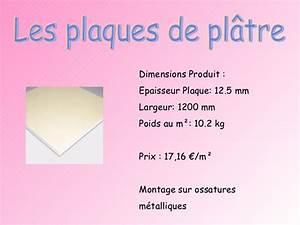 Dimension Plaque De Platre : expos cloisons ~ Dailycaller-alerts.com Idées de Décoration