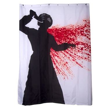 shower curtain costume buy psycho shower curtain