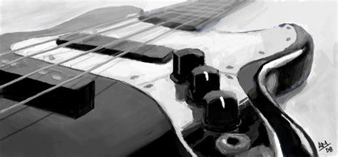 Quitar Graffiti :  Bass Guitar By Slownsilent On Deviantart