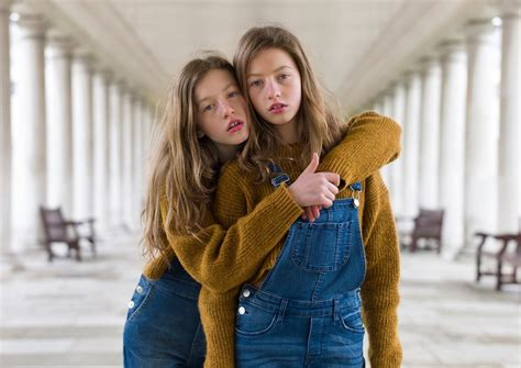 New Portraits Of Identical Twins By Peter Zelewski