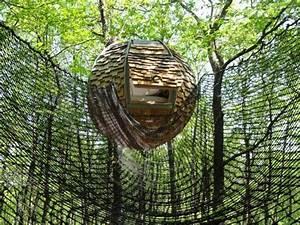 Constructeur Cabane Dans Les Arbres : lov 39 nid suspendu nidperch constructeur de cabane ~ Dallasstarsshop.com Idées de Décoration
