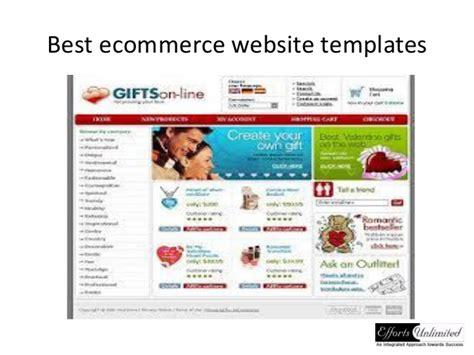 Best Ecommerce Template Best Ecommerce Website Templates
