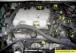 3 4l And 3 1l V6 Engine Sensor Location Pictures And