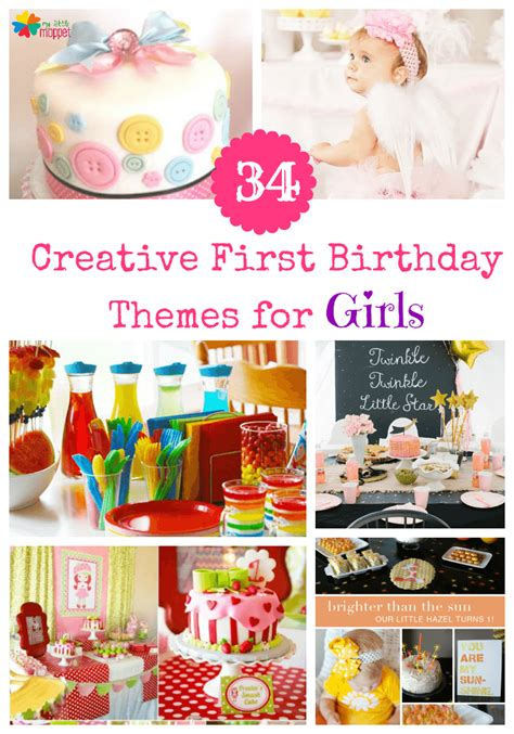 10 1st birthday party ideas for part 2 tinyme 34 creative girl birthday party themes ideas my