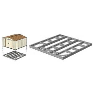 arrow fdn109 floor kits storage sheds direct