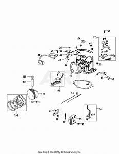 Mtd 1t65rua Engine Parts Diagram For 1t65rua Crankcase