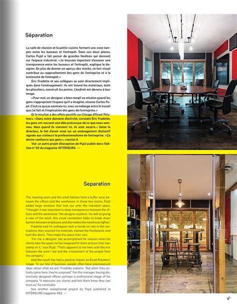 bureaux industriels des bureaux industriels par le designer français carlos