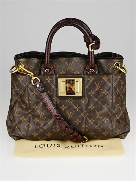 louis vuitton limited edition monogram etoile exotique tote mm bag yoogis closet