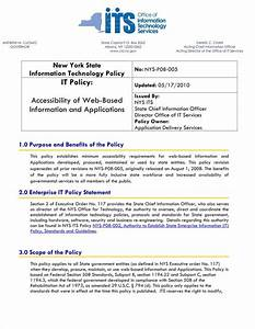 9 it policy templates free pdf doc format download With information technology policy template