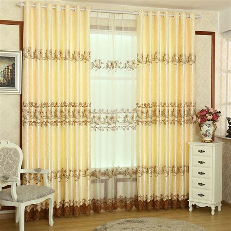 embroidery crafts living room discount curtains and drapes