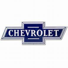 Chevrolet Bowtie Car Logo Cutout Metal Sign Chevy Garage