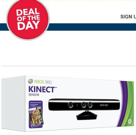 best buy deals of the day best buy deal of the day xbox 360 kinect only 59 99