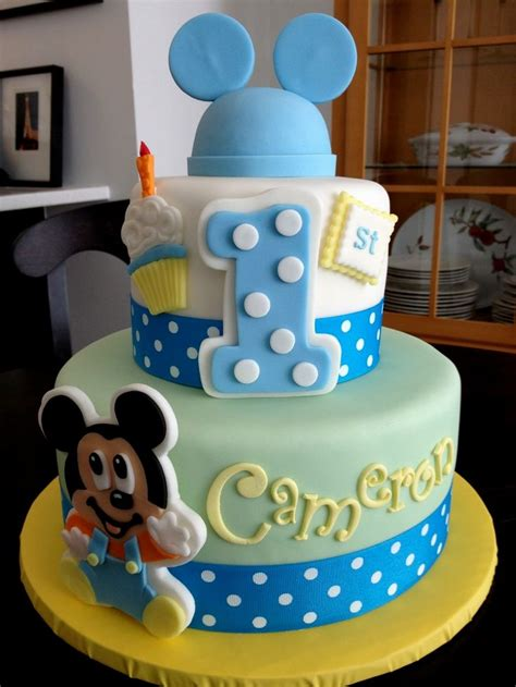 birthday cake designs awesome mickey mouse 1st birthday cake ideas best 1741