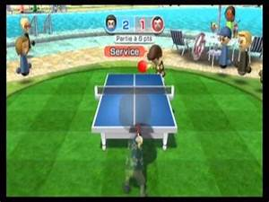 [Wii Sports Resort] Table Tennis 0 to 1500 and defeat champ - YouTube  Table Tennis Sports