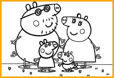 Peppa Pig Coloring Pages Online at GetColorings com Free