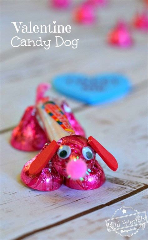 valentine candy dog pictures   images