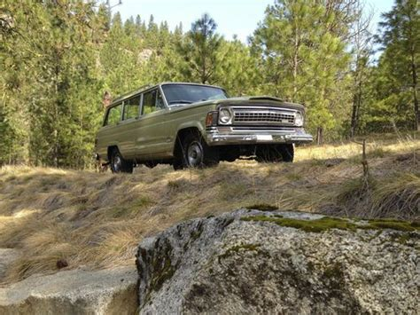 1971 jeep wagoneer buy used 1971 jeep wagoneer 68 000 miles featured in