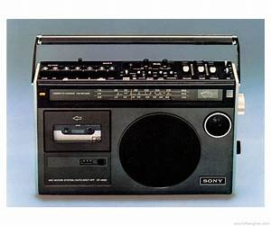 Sony Cf-480 - Manual - Portable Cassette Recorder