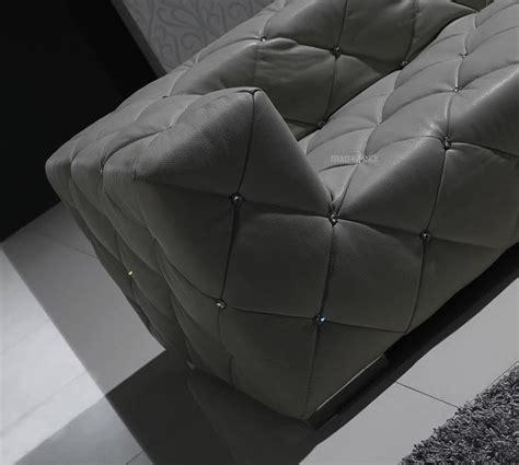 canapé cuir capitonné canape d angle cuir salon diamant canape en angle