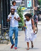 Idris Elba looks a world away from his tough guy with son ...