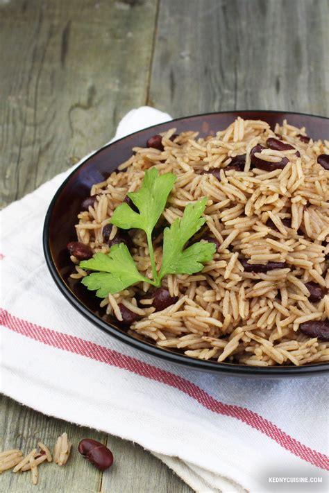 cuisiner le riz riz collé aux pois rouges quot riz national quot