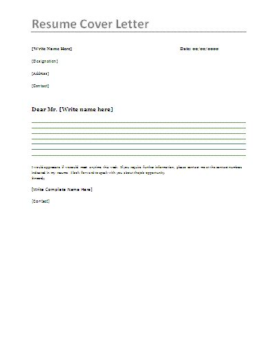 Cover Letter Resumes by Resume Cover Letter Exles Templates