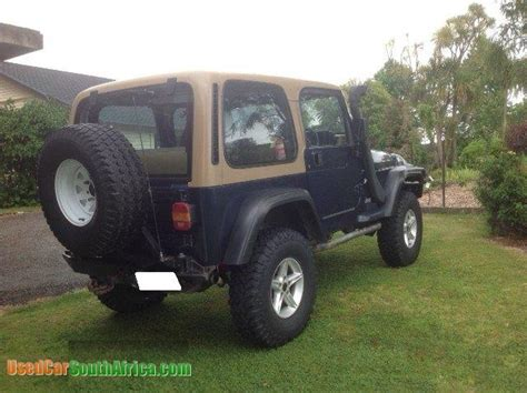 jeep wrangler tj sport  car  sale  johannesburg west gauteng south africa