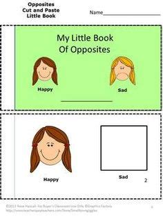 pre  opposites images teaching preschool