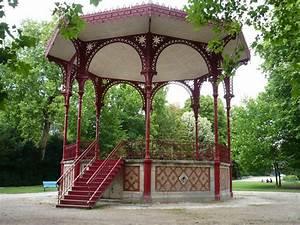 Kiosque de jardin ferme for Nice abri de jardin bois pas cher leroy merlin 14 tonnelle en fer forge d occasion