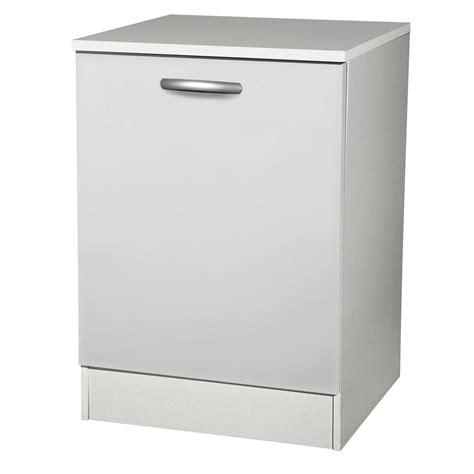 meuble bas cuisine 1 porte meuble de cuisine bas 1 porte blanc h86x l60x p60cm