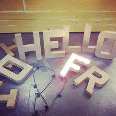 1000 images about preschool got talent camp on pinterest With light up letters hobby lobby