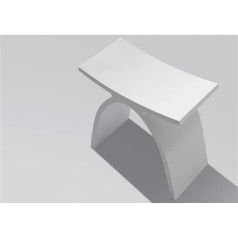 tabouret de cuneo en solide surface design