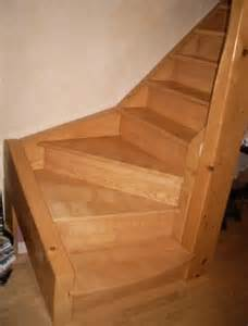 Construire Un Escalier Quart Tournant by Comment Construire Un Limon D Escalier En Bois Blog