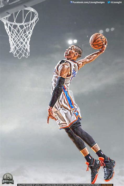 Russell Westbrook By Lisong24kobe On Deviantart