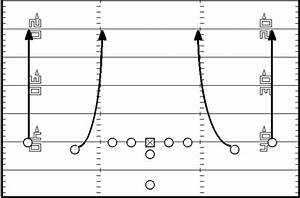 Football Play Diagram Template