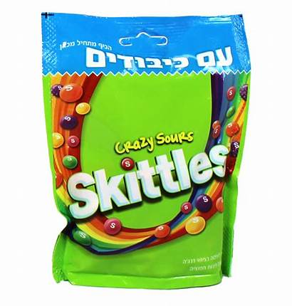 Skittles Crazy Sours Candy Kosher