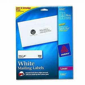 avery dennison easy peel white address label w p 1 1 With avery 3x4 labels