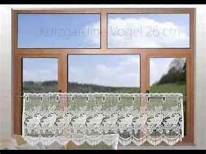 Gardinen Häkeln Modern : plauener spitze gardinen bistrogardinen scheibenh nger youtube ~ Watch28wear.com Haus und Dekorationen