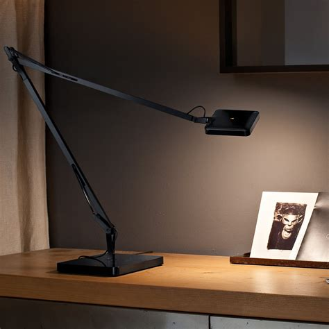 Kelvin edge desk support (hidden cable) kelvin edge wall support. Kelvin LED table lamp by Flos in the shop