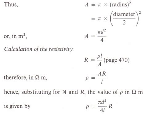 measure  resistivity  constantan physics homework