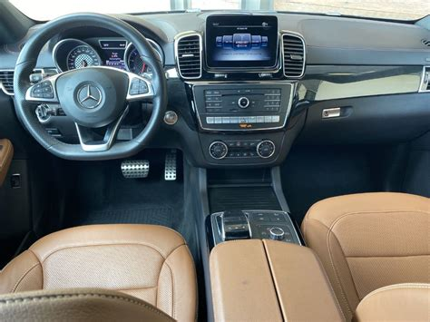 This available package transforms the cockpit with sport front seats, orange seat piping. Certified Pre-Owned 2019 Mercedes-Benz GLE AMG® GLE 43 ...