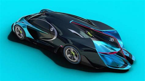 Luxury, history, power, and presence all in one. Bugatti Concept: How a Bug should have really looked like