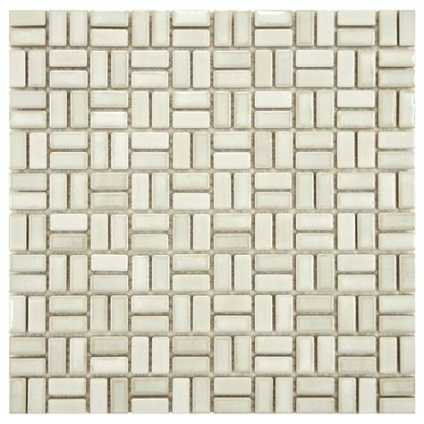 merola tile rustica weave glacier 12 in x 12 in x 8 mm